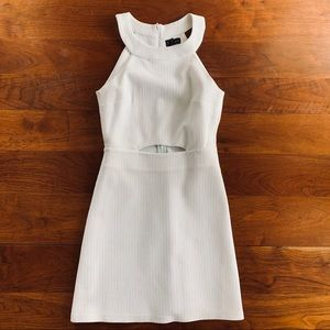 Topshop white cutout dress only worn once